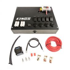 12V Control Box + Dual Battery System