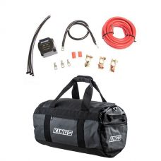 Kings 40L Large PVC Duffle Bag + Dual Battery System