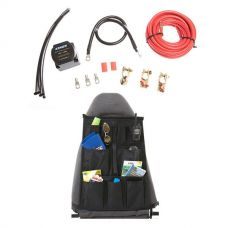 Adventure Kings Dual Battery System + Car Seat Organiser