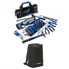 Adventure Kings Essential Bush Mechanic Toolkit + Heavy Duty Dirty Gear Bag