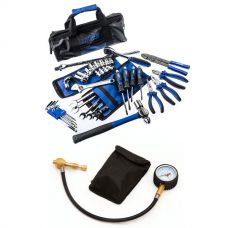 Adventure Kings Essential Bush Mechanic Toolkit + Kwiky Tyre Deflator