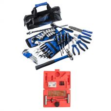 Adventure Kings Essential Bush Mechanic Toolkit + Tyre Repair Kit