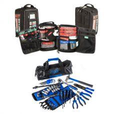 Essential Bush Mechanic Toolkit + 100+ Piece Survival 'Vehicle' First-Aid Kit
