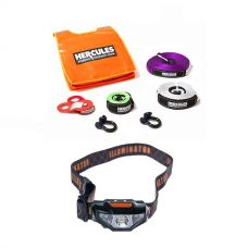 Hercules Essential Nylon Recovery Kit + Illuminator LED Head Torch