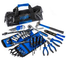 Essential Bush Mechanic Toolkit | 44 Pieces | Spanners, Sockets, Pliers & More | Inc. Storage Bag | Adventure Kings