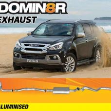Domin8r Aluminised Exhaust Suitable For Isuzu MUX RF 3.0L 2012+ (Turbo Back)