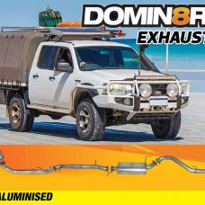 Domin8r Aluminised Exhaust Suitable For Mazda BT50 UN & Ford Ranger PJ-PK 3.0L All Bodies 2006-2010 (AUTO)  (Turbo Back)