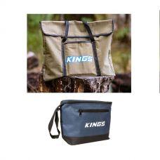 Kings Portable Fire Pit Bag + Cooler Bag