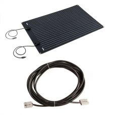 Adventure Kings 110W Semi-Flexible Solar Panel + 10m Lead For Solar Panel Extension