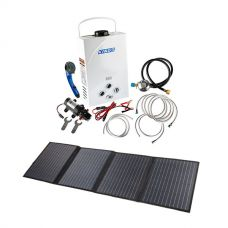 Kings Portable Gas Hot Water System + 120W Solar Blanket with MPPT Regulator