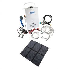 Kings Portable Gas Hot Water System + Adventure Kings 200W Solar Blanket with MPPT