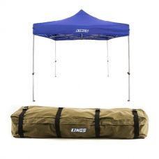 Adventure Kings - Gazebo 3m x 3m + Roof Top Canvas Bag