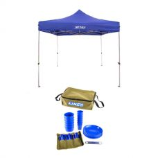 Adventure Kings - Gazebo 3m x 3m + 37 Piece Six-Person Picnic Set