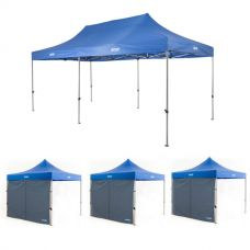 Adventure Kings - Gazebo 6m x 3m + 3x Adventure Kings Gazebo Side Wall