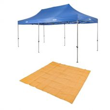Adventure Kings - Gazebo 6m x 3m + Mesh Flooring 3m x 3m