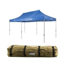 Adventure Kings - Gazebo 6m x 3m + Roof Top Canvas Bag