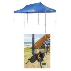 Adventure Kings - Gazebo 6m x 3m + Camp Oven/Stove