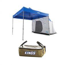 Adventure Kings Gazebo Hub + Clear Top Canvas Bag