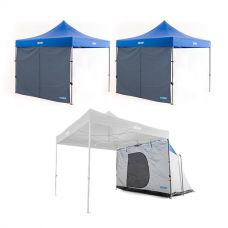 Adventure Kings Gazebo Hub + 2x Gazebo Side Wall