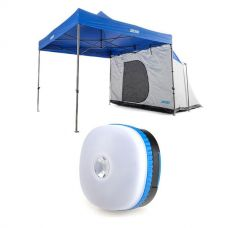Adventure Kings Gazebo Hub + Mini Lantern