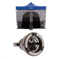 Adventure Kings Gazebo Tent + 2in1 LED Light & Fan