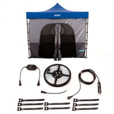 Adventure Kings Gazebo Tent + Illuminator 4m MAX LED Strip Light