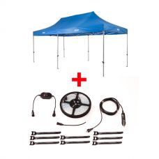 Adventure Kings - Gazebo 6m x 3m + Illuminator 4m MAX LED Strip Light