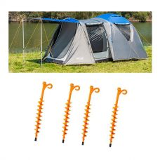 Adventure Kings 6 Person Geo Dome Tent + 4x GroundGrabba - Lite