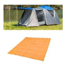 Adventure Kings 6 Person Geo Dome Tent + Mesh Flooring 3m x 3m