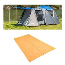 Adventure Kings 6 Person Geo Dome Tent + Mesh Flooring 6m x 3m