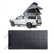 Adventure Kings Grand Tourer Roof Top Tent + Adventure Kings 160W Semi-Flexible Solar Panel