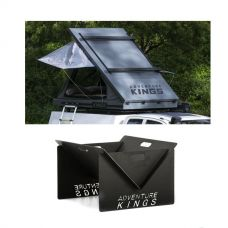 Grand Tourer MKII Aluminium Rooftop Tent + Kings Portable Steel Fire Pit