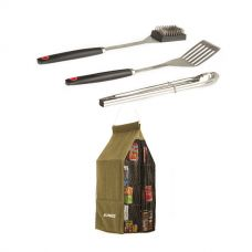 Adventure Kings Hanging Pantry + BBQ Tool Set