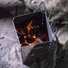 Kings Charcoal Starter | Stainless Steel | Compact Folding Design | Easy to Light