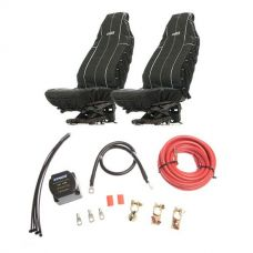 Adventure Kings Heavy Duty Seat Covers (Pair) + Adventure Kings Dual Battery System