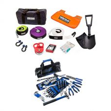 Hercules Complete Recovery Kit + Essential Bush Mechanic Toolkit
