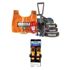 Hercules Complete Recovery Kit + Hercules Heavy Duty 3m Ratchet Strap (2 pack)