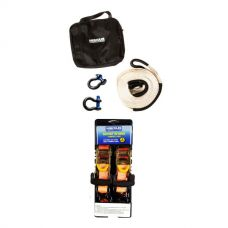 Hercules Snatch Strap Kit + Hercules Heavy Duty 3m Ratchet Strap (2 pack)