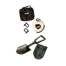 Hercules Snatch Strap Kit + Recovery Folding Shovel