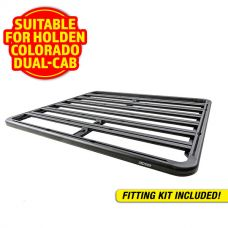 Adventure Kings Aluminium Platform Roof Rack Suitable for Holden Colorado Dual-Cab 2012+