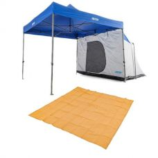 Adventure Kings Gazebo Hub + Mesh Flooring 3m x 3m