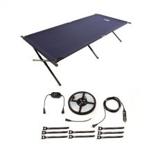 Illuminator 4m MAX LED Strip Light + Adventure Kings Camping Stretcher Bed