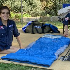 Kings -2°C Kids' Sleeping Bag   Supa Warm   Hard-Wearing   Lightweight & Breathable
