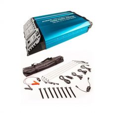 Adventure Kings 1500W Inverter + Illuminator 4 Bar Camp Light Kit
