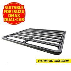 Adventure Kings Aluminium Platform Rack Suitable for Isuzu DMAX Dual-Cab 2012+