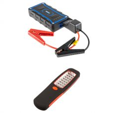 Adventure Kings Jump Starter + Illuminator 24 LED Work Light