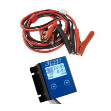 Kings 12V Battery Monitor + Heavy-Duty Jumper Leads