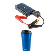 Kings 1000A Lithium Jump Starter + 410ml Travel Mug