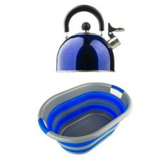 Adventure Kings Camping Kettle + Collapsible Laundry Basket