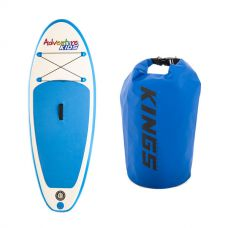 Kids Inflatable Stand-Up Paddle Board + Adventure Kings 15L Dry Bag